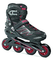 Roces Mens ZYX M Fitness Inline Skates Blades ART Black/Red 400805