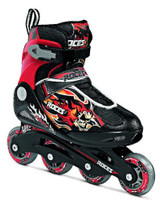 Roces Kid's Boys Compy Fitness Inline Skates Blades Black/Red 400808