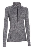 Under Armour Women's Twisted Tech 1/2 Zip Long Sleeve Shirt, 1270525
