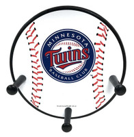 "Ultimate Hands Minnesota Twins 3 Peg 12"" Wall Rack, MINT-WR-BASE"