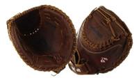 """Nokona Classic Walnut Fastpitch 32.5"""" Catchers Softball Mitt, RHT W-V3250C/L"""