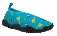 AdTec Toddlers Tecs Fish Theme Water/Land Shoe Aquasock Pool Beach Mesh 5011