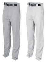 Rawlings Adult Men's Premium Straight Baseball/Softball Pant Unhemmed PPU140