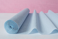 Wedgewood Blue Italian Crepe Paper Roll & Table Runner