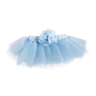 Baby Blue Tutu with Flower, Costume, 0-18 months