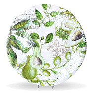 Michel Design Works Avocado Large Round Platter
