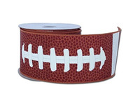 "Football Lace Ribbon 2.5"" wide"