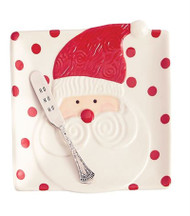 Santa Cheese Set