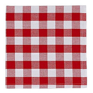 Tango & White Check Napkin- Set of 4