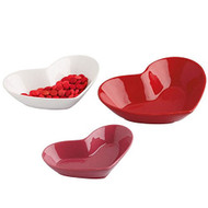 DII Hearts Ceramic Dish Set - Set of 3
