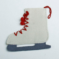 Skate Felt Place Setting Flatware Holder