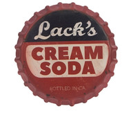 "13.5"" Cream Soda Wall Sign"
