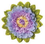 Tissue Paper Flower - Lilac & Periwinkle 10 Inch