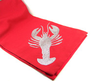 Lobster Table Runner - Red