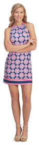 Poly Jersey Bow Tie Dress - Large