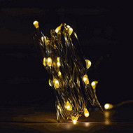 20 LED Waterproof Warm White Fairy String Lights