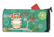 Winters Owl Mail Wrap