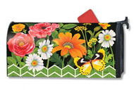 Fancy Floral Mail Wrap