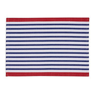 DII Blue Nautical Placemats - Set of 4