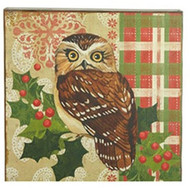 "15.5"" Brown Owl Print"