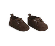 Baby Boys Brown Classic Shoes 0-6 months