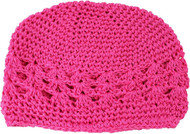 Kufi Infant Hats (Hot Pink)