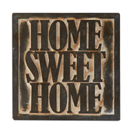 Home Sweet Home Brick Sign