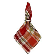 Thankful Plaid Napkin- Set of 4