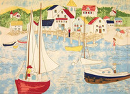 Sailboat Placemats - Set of 6