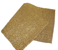 Glistening Gold Table Runner