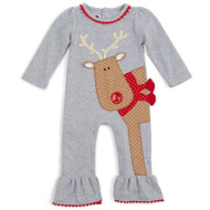 Mud Pie Reindeer One-Piece