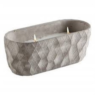 TAG Gray Dual Wick Citronella Pot