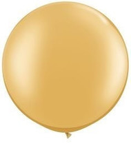 "Gold Metallic 36"" Latex Balloon"