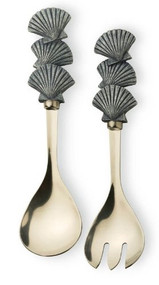 Boston International Salad Server Utensil Set, Shore Thing