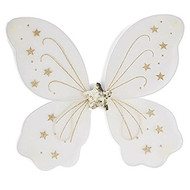 Girls White Fairy Wings