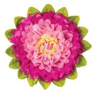 Tissue Paper Flower - Bubblegum & Sorbet 10 Inch