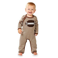 Infant Boys Football One Piece (3-6 months)