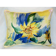 Betsy's Sunflower Large Pillow
