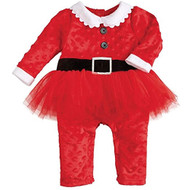 Mud Pie Santa Tutu One-Piece (6-12 months)