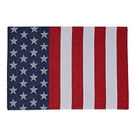 DII Flag Stripe Jacquard Placemats - Set of 4