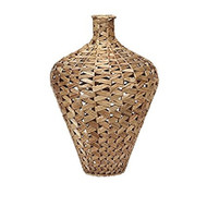 Lelei Large Woven Water Hyacinth Vase