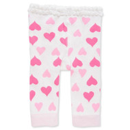 Baby Girls Hearts Leggings -0-12 months