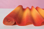 Ombre Orange Italian Crepe Paper Roll & Table Runner