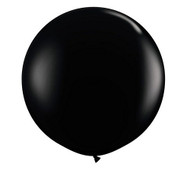 "Qualatex 36"" Onyx Black Latex Balloon"