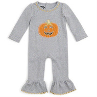 Infant Girls Pumpkin One Piece (0-6 months)