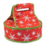 DII Snowflake Pie Carrier