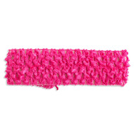 Fuschia Crochet Headband
