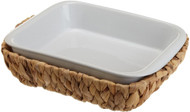 DII Rectangular Baker with Basket