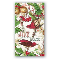 Michel Design Works Mistletoe & Holly Hostess Paper Napkins