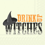Drink Up Witches Paper Cocktail Napkin
